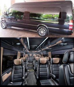 15 Passenger Luxury Van Rental Atlanta