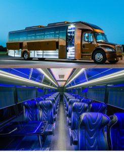Atlanta Luxury Coach Bus Charter Rental