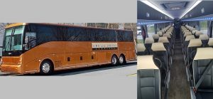 55 Passenger Coach Charter Bus Atlanta Rental